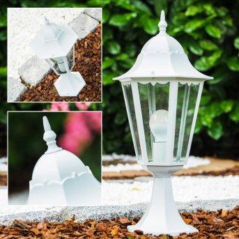 lampa słupek Biały, 1-punktowy