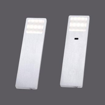 Paul Neuhaus HELENA Oświetlenie podszafkowe LED Aluminium, 1-punktowy, Czujnik ruchu