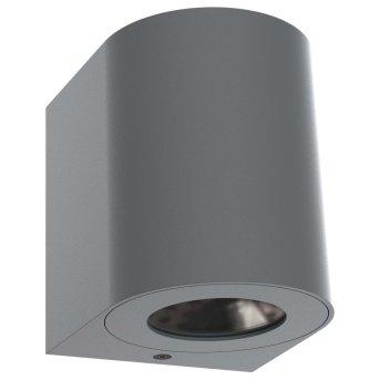 Nordlux CANTO Zewnętrzny kinkiet LED Siwy, 2-punktowe