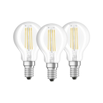 Osram LED E14 4 Watt 4000 Kelvin 470 Lumen zestaw trzech