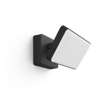 Philips Hue Ambiance White & Color Discover światło ewakuacyjne LED Czarny, 1-punktowy, Zmieniacz kolorów