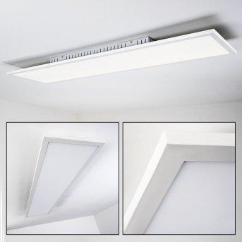 Salmi Lampa Sufitowa LED Biały, 1-punktowy
