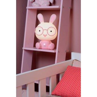Lucide DODO Rabbit Lampa stołowa LED Różowy, 1-punktowy