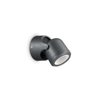Ideal Lux XENO Zewnętrzny kinkiet Czarny, 1-punktowy