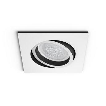 Philips Hue Ambiance White & Color Centura rozszerzenie zestawu podstawowego do opraw podtynkowych Biały, 1-punktowy, Zmieniacz kolorów