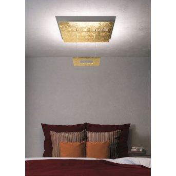Escale ZEN D2W Lampa Sufitowa LED Złoty, 4-punktowe