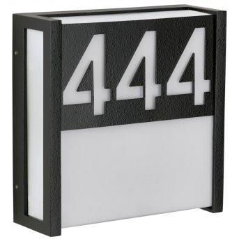 Albert Edelstahl nakładka Czarny, Biały