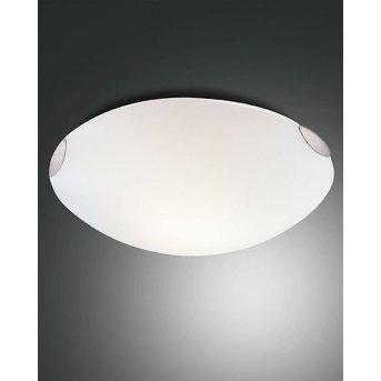 Fabas Luce FOX lampa sufitowa Nikiel matowy, 3-punktowe