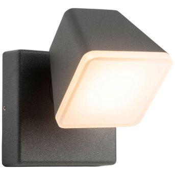 AEG Isacco Zewnętrzny kinkiet LED Antracytowy, 1-punktowy
