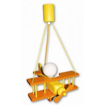 Waldi Flugzeug lampa wisząca Pomarańczowy, 1-punktowy
