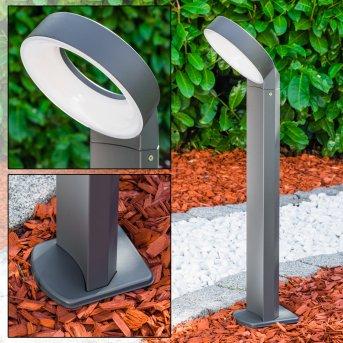 MERIDIAN Lampa na cokół LED Antracytowy, 1-punktowy