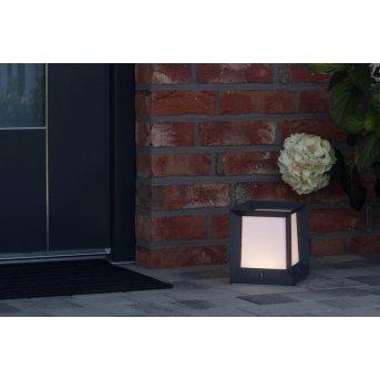 AEG KUBUS Lampa na cokół LED Antracytowy, Biały, 1-punktowy