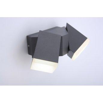 Paul Neuhaus RYAN Lampa ścienna LED Antracytowy, 2-punktowe