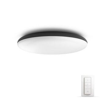 Philips Hue Ambiance White Cher Lampa Sufitowa LED Czarny, 1-punktowy, Zdalne sterowanie