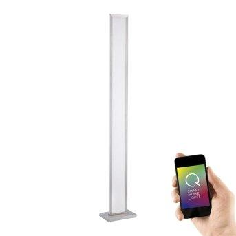 Paul Neuhaus Q-ROSA Lampa Stojąca LED Stal nierdzewna, 1-punktowy, Zdalne sterowanie