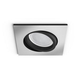 Philips Hue Ambiance White & Color Centura rozszerzenie zestawu podstawowego do opraw podtynkowych Srebrny, 1-punktowy, Zmieniacz kolorów