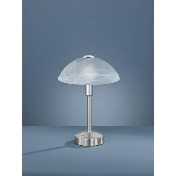 Trio DONNA Lampa stołowa LED Nikiel matowy, 1-punktowy
