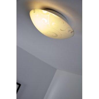 Globo BIKE lampa sufitowa Biały, 1-punktowy