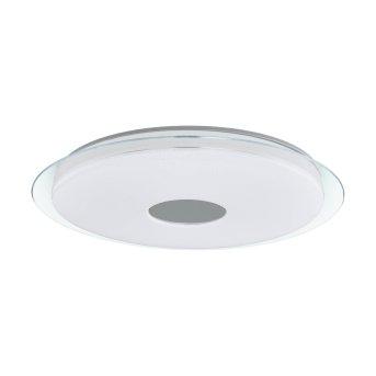 Eglo LANCIANO-C Oświetlenie ścienne i sufitowe LED Biały, Przezroczysty, 1-punktowy