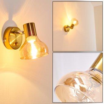 Esberg Lampa ścienna Złoty, 1-punktowy