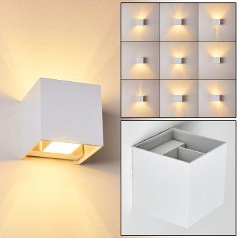 Badajoz Lampa ścienna LED Biały, 1-punktowy