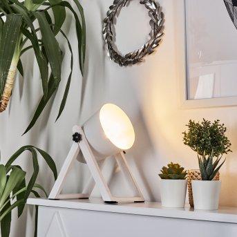 Novilly Lampa stołowa Biały, 1-punktowy