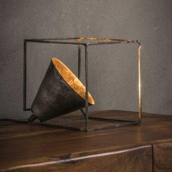 Lampa stołowa Haastrecht Stare Złoto, 1-punktowy