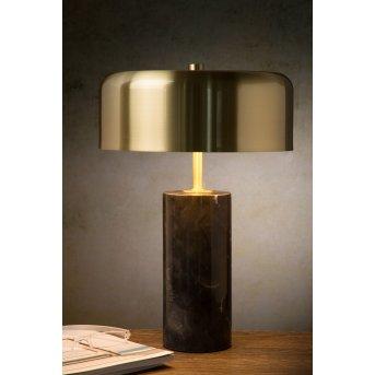 Lampa stołowa Lucide MIRASOL Czarny, 3-punktowe