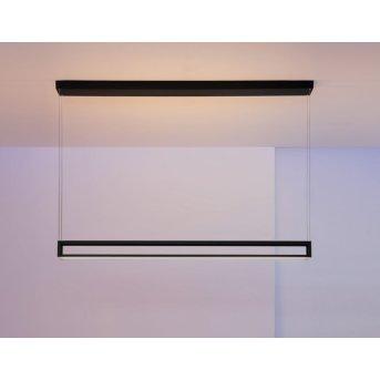 Escale Akio Lampa Wisząca LED Czarny, 2-punktowe