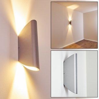 Gatunga Zewnętrzny kinkiet LED Srebrny, 2-punktowe
