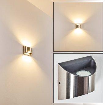 Vano Zewnętrzny kinkiet LED Nikiel matowy, 2-punktowe