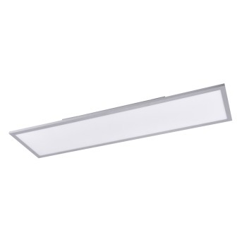Leuchten Direkt FLAT Lampa Sufitowa LED Srebrny, 1-punktowy