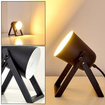 Novilly Lampa stołowa Czarny, 1-punktowy