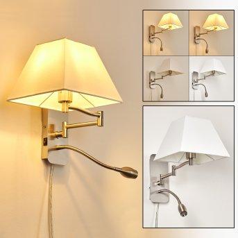 Wiby Lampa ścienna LED Nikiel matowy, 2-punktowe