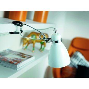 Nordlux CYCLONE lampa z klipsem Biały, 1-punktowy