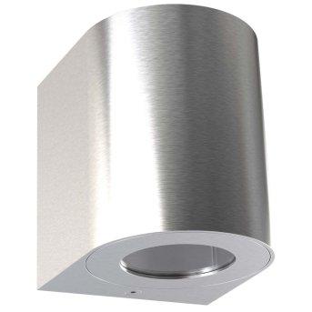 Nordlux CANTO Zewnętrzny kinkiet LED Stal nierdzewna, 2-punktowe