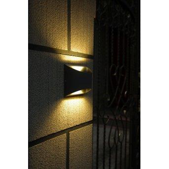 Lutec BONN Lampa ścienna LED Antracytowy, 2-punktowe