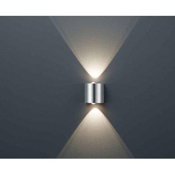 Trio WALES lampa ścienna LED Nikiel matowy, 2-punktowe