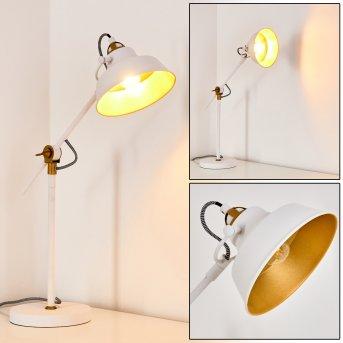 Luven Lampa stołowa LED Biały, 1-punktowy