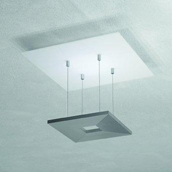Escale ZEN D2W Lampa Sufitowa LED Antracytowy, Biały, 4-punktowe