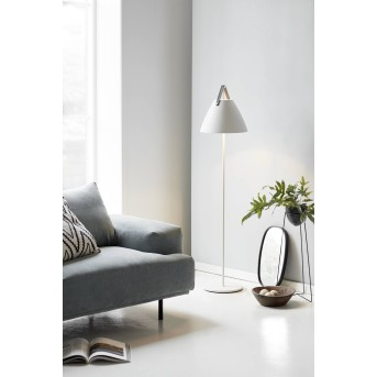Design For The People by Nordlux STRAP Lampa Stojąca Biały, 1-punktowy