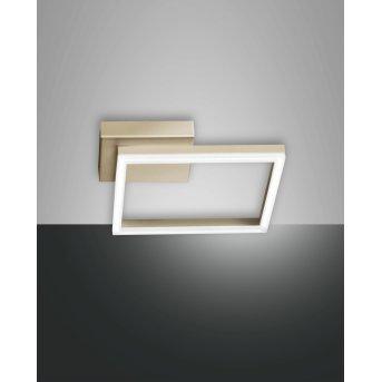 Fabas Luce Bard Lampa Sufitowa LED Złoty, 1-punktowy