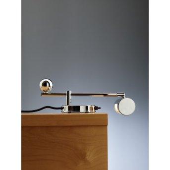 Tecnolumen DS 28 Lampa stołowa Chrom, 1-punktowy