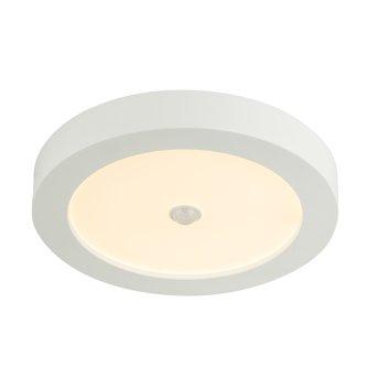 Globo PAULA Lampa Sufitowa LED Szkło, 1-punktowy, Czujnik ruchu