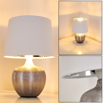 Stampa Lampa stołowa Srebrny, 1-punktowy