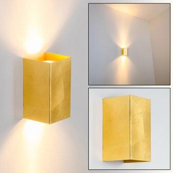 Matera Lampa ścienna Złoty, 2-punktowe