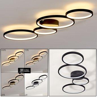 Rodekro Lampa Sufitowa LED Czarny, 1-punktowy