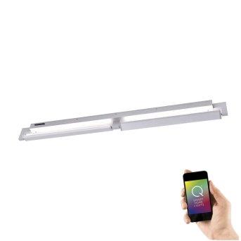 Lampa Ścienna i Sufitowa Paul Neuhaus Q-Matteo LED Aluminium, 2-punktowe, Zdalne sterowanie