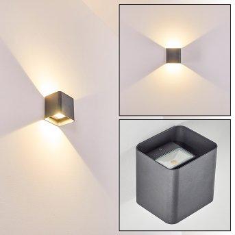 Vikom Zewnętrzny kinkiet LED Antracytowy, 2-punktowe