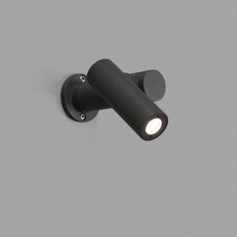 Faro Barcelona Spy-1 Lampa ścienna Siwy, 1-punktowy